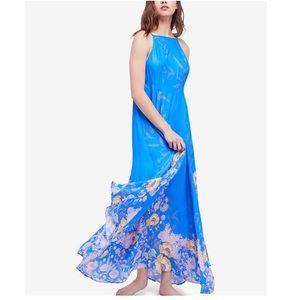 Free People Floral Print Maxi Dress